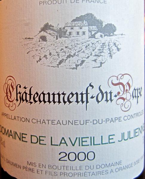 CU 2000 Domaine de la Vieille Julienne CDP