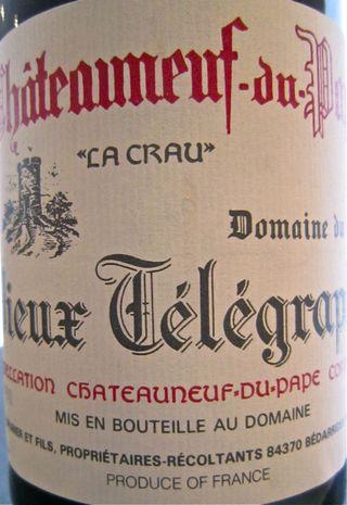CU - 2000 Vieux Telegraph CDP