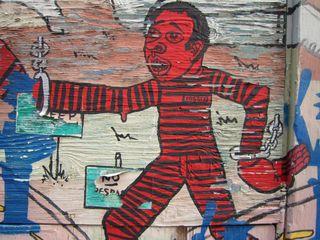 A - Murals -- CU redman