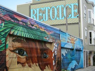 A - Murals - rejoice