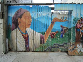 A - Murals - Indian woman