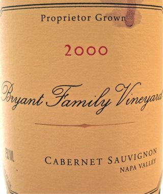 CU - 2000 Bryant Family Vineyard Cab