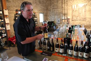 A - CDP - Harry opens wines