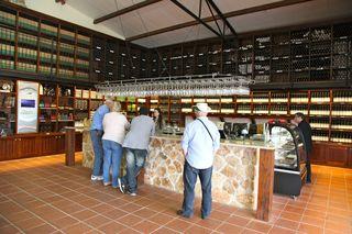 Israel – Tishbi tasting room