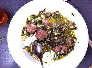 A – Meatballs – serving
