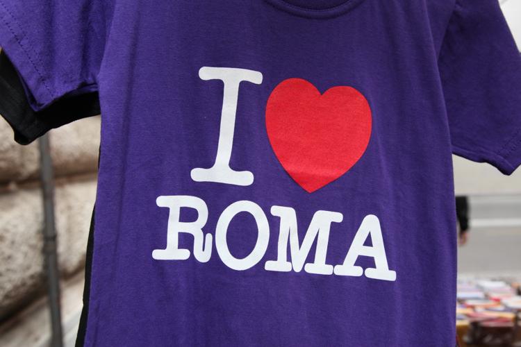 A - Dal Bolo - I love Roma T shirt