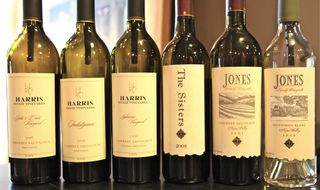 A - Salon - The 6 wines for tasting