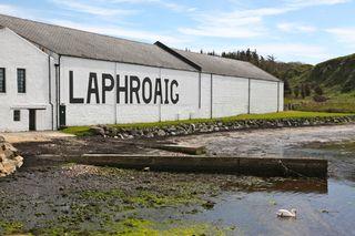 A - Scotland - Laphroaig exterior
