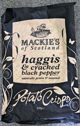 A - Scotland - Haggis potato chips
