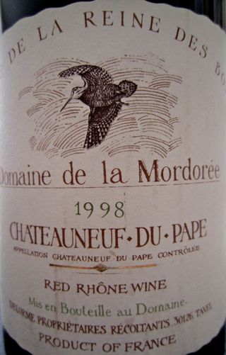 A - Dom de la Mordoree label CU