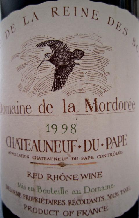 A - Dom de la Mordoree label CU