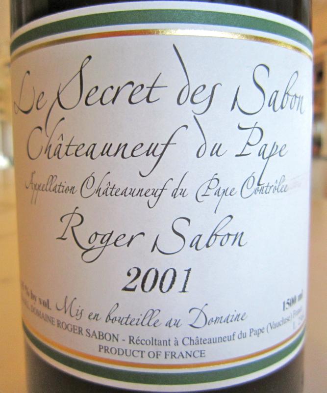 A - Sabon - CU Label