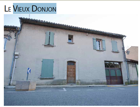 A - Donjon - front of winery