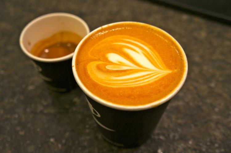 NY - Ninth St. espresso close-up