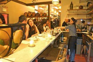 NY - Melissa, the bartender at Il Buco II
