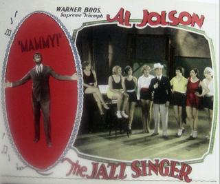 A - Jazz Singer Poster 2