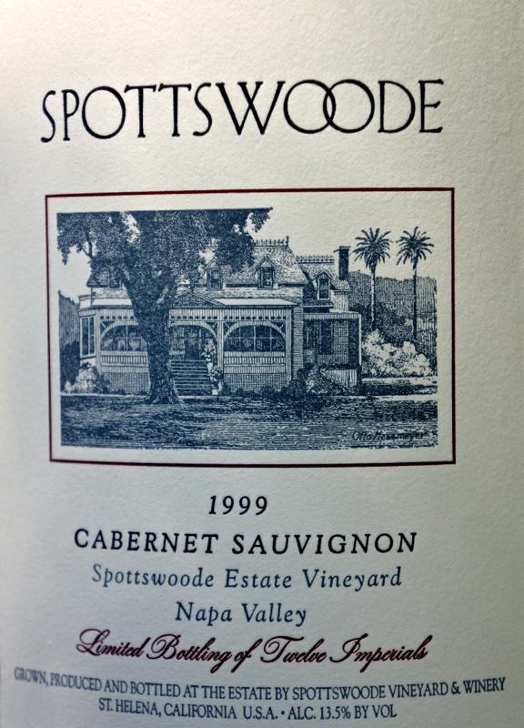 A - Spottswoode - 6L label