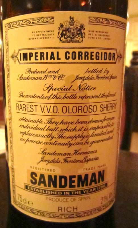A - Imperial Corregidor CU label