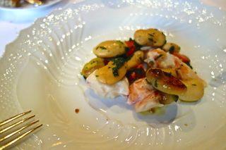A - NYC - CU Del Posto Lobster salad