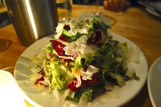 A - NYC - Chicories at L'Artusi, lit by cnadlelight