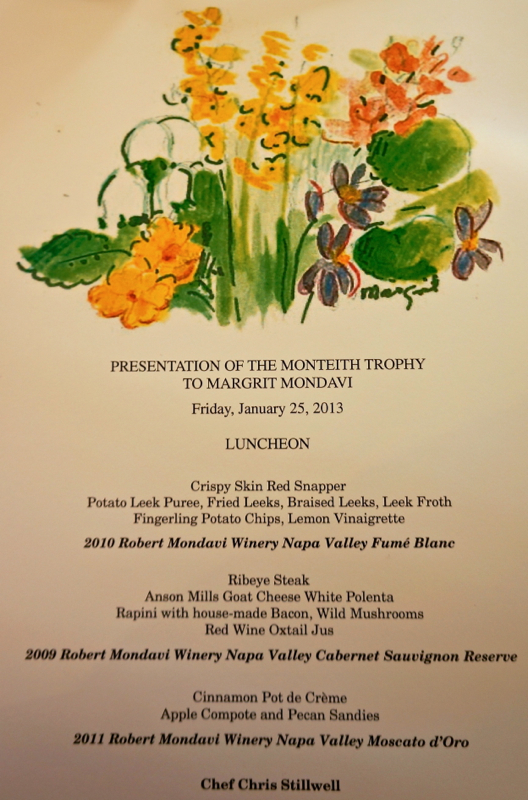 A - Margrit - Luncheon Menu