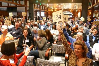 A - NVV - The auction gets underway