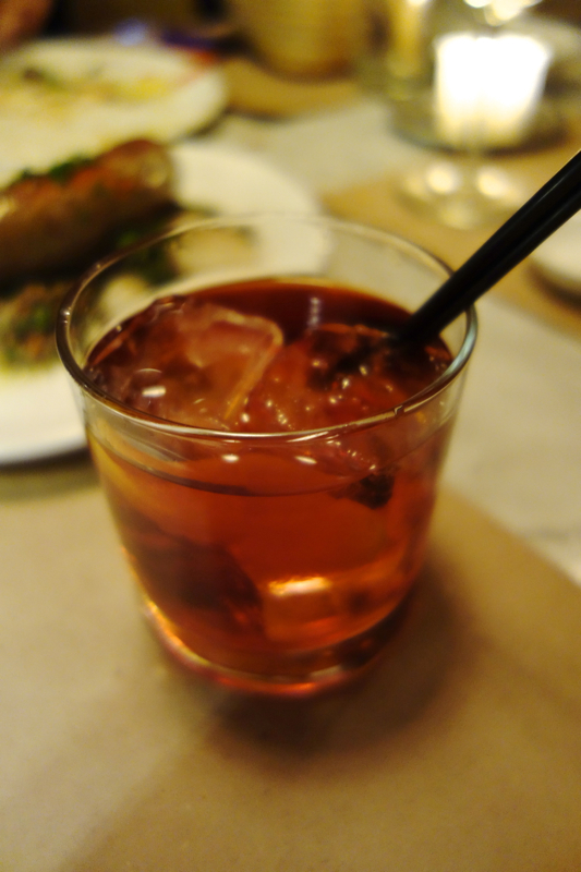 A - NYC - Negroni at Il Buco