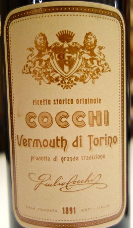 A - Negroni - CU Cocchi label