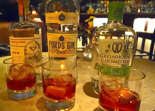 A - Negroni - Fifth Floor gins