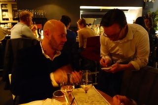 A - NYC - It's dark at L'Artusi