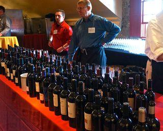 A - NVV - Stephen Parry's wine table, K to Z