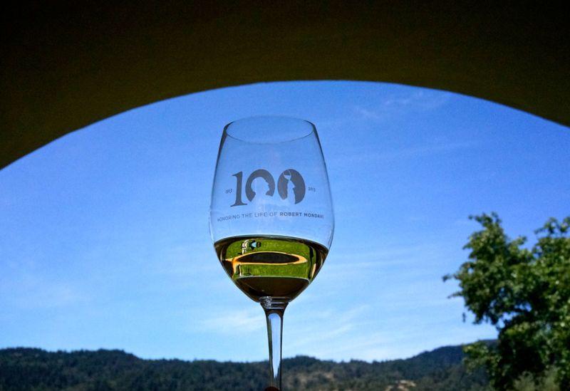 CU Mondavi Glass