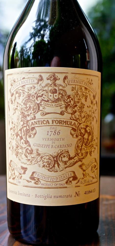 G&G - CU Carpano Antica label