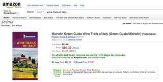 A - Italy - Amazon price