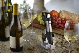 C - Coravin on countertop