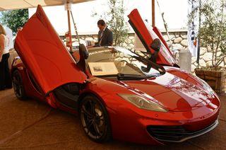 A - ANV - CU McLaren car