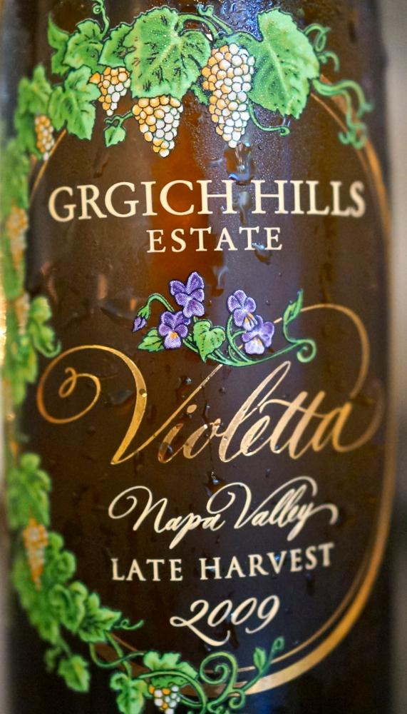 A - Grgich - Violetta, label CU