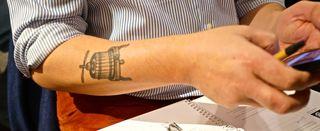 A - Auction – Kenneth Olsen tattoo