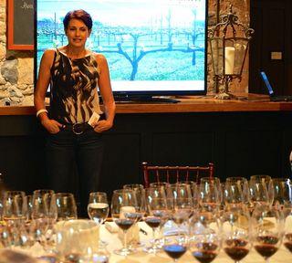 Rutherford - Regina Weinstein, Honig Vineyards