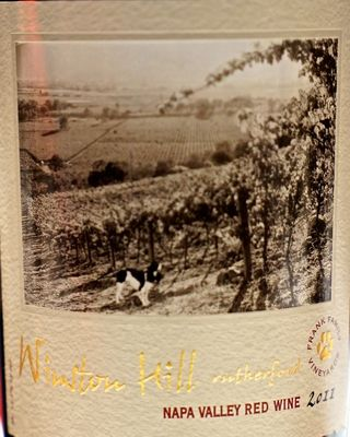 Rutherford- Frank Fanily label CU