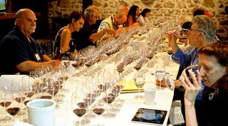 Rutherford - Members of Press at tasting