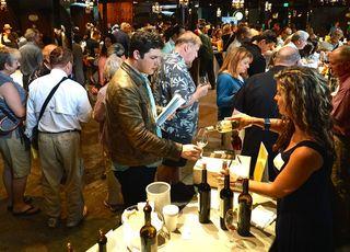 Rutherford- trade tasting at Inglenook