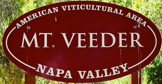 Mt Veeder - Appellation Sign