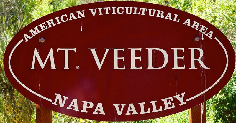 Mt Veeder - Appellation Sign