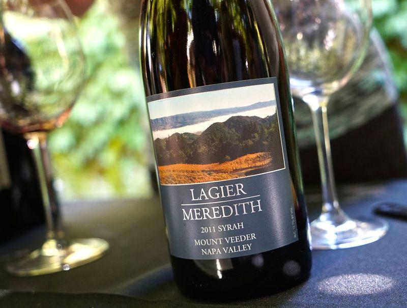 Mt. Veeder - Lagier Meredith label CU