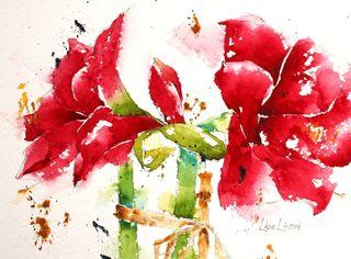 Lisa flowers red 1