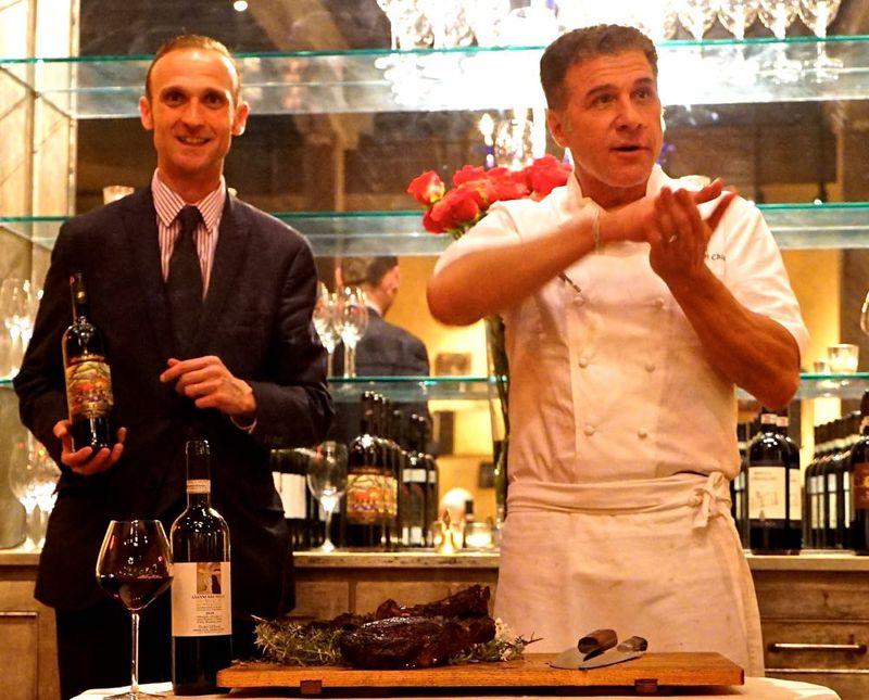 Opening Shot, Massi & Chiarello