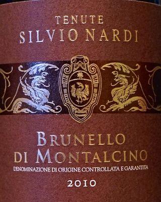 Tenuta Silvio Nardi label CU