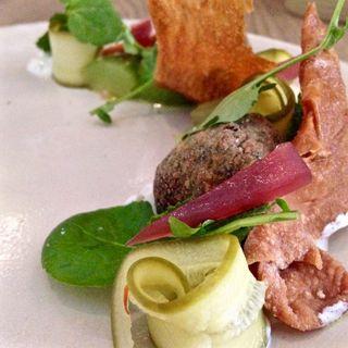 Trestle falafel