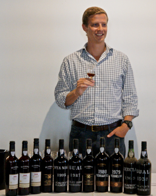 Chris Blandy at tasting